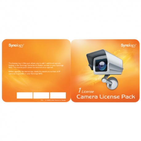 Synology paket licenci za kamere x 1