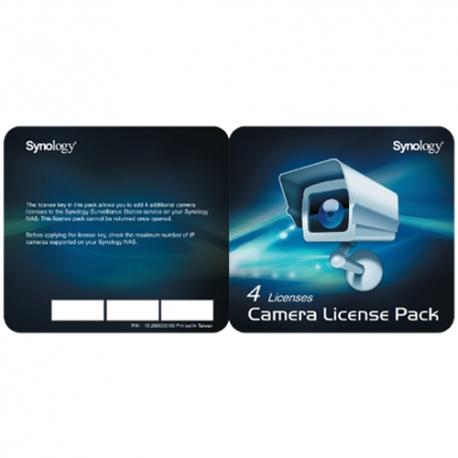 Synology paket licenci za kamere x 4